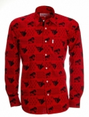 Chemise Gardian Patch Rouge