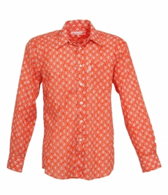 Chemise Gardian Calisson Abricot