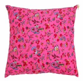 Coussin Chaffarcani Rose Indien