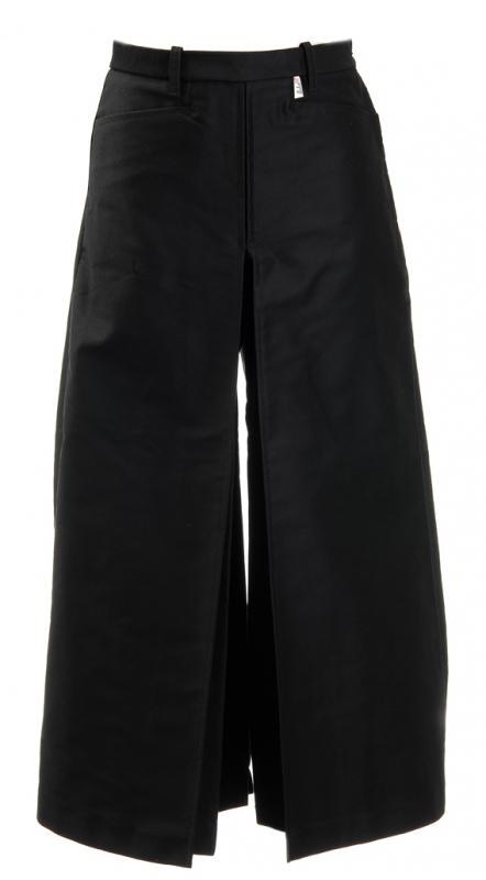 Jupe Culotte Gardiane Noire — Jupe Culotte Gardiane Noire