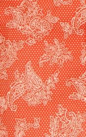 Chemisier Voile Bengale Orange